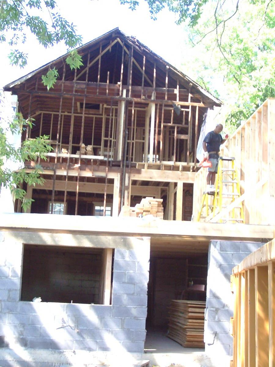 Removing Studs From A Load Bearing Wall 000 0292 Jpg