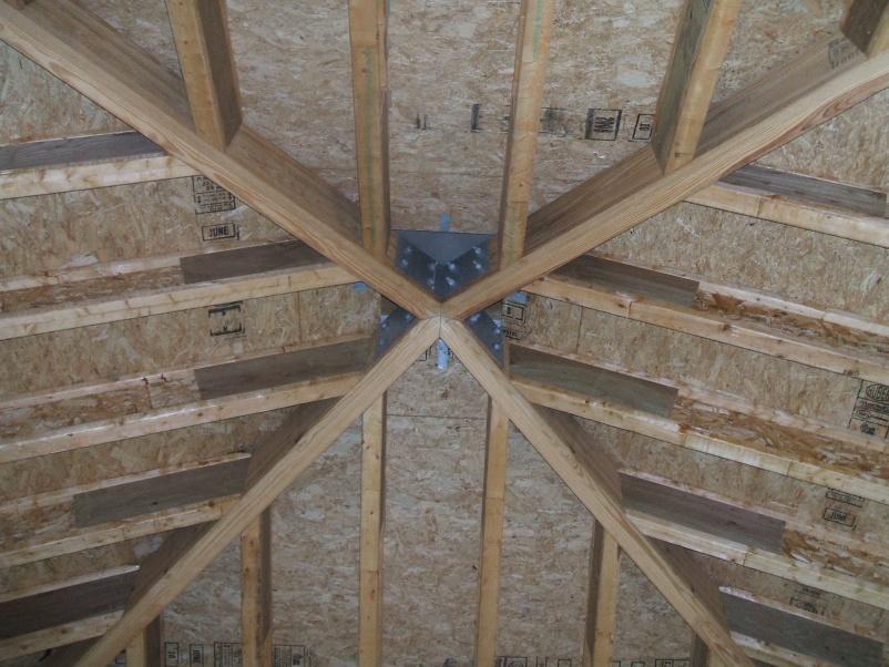 Back Bevel For Hips On An Octagon Roof Framing