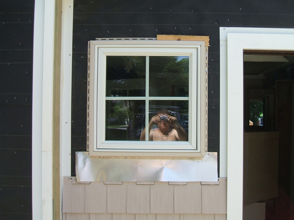 1x6 pvc trim around new construction window idea for New construction windows