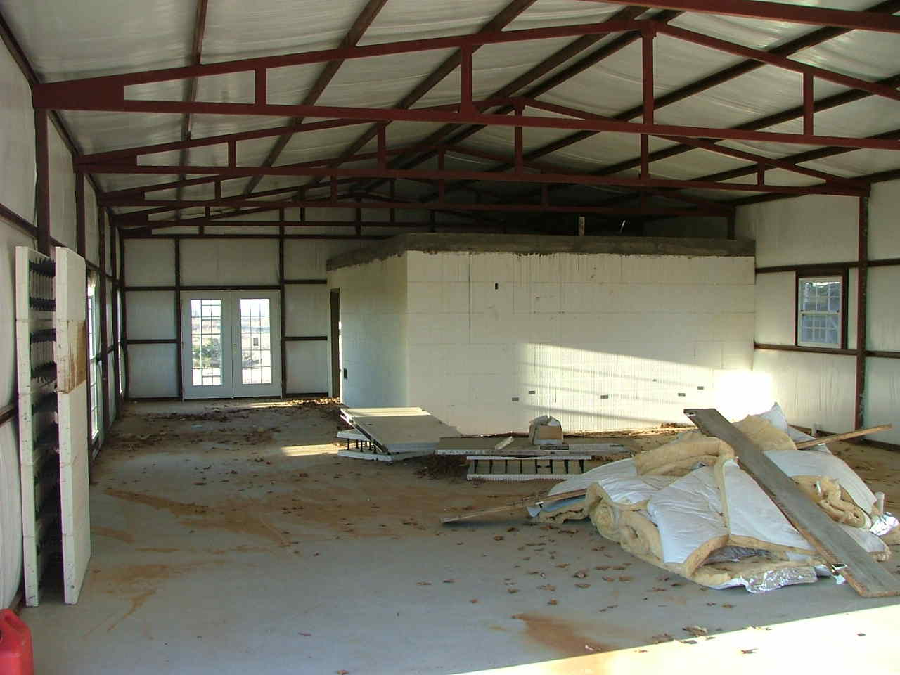 Safe Room Steel Building Page 2 Construction Picture