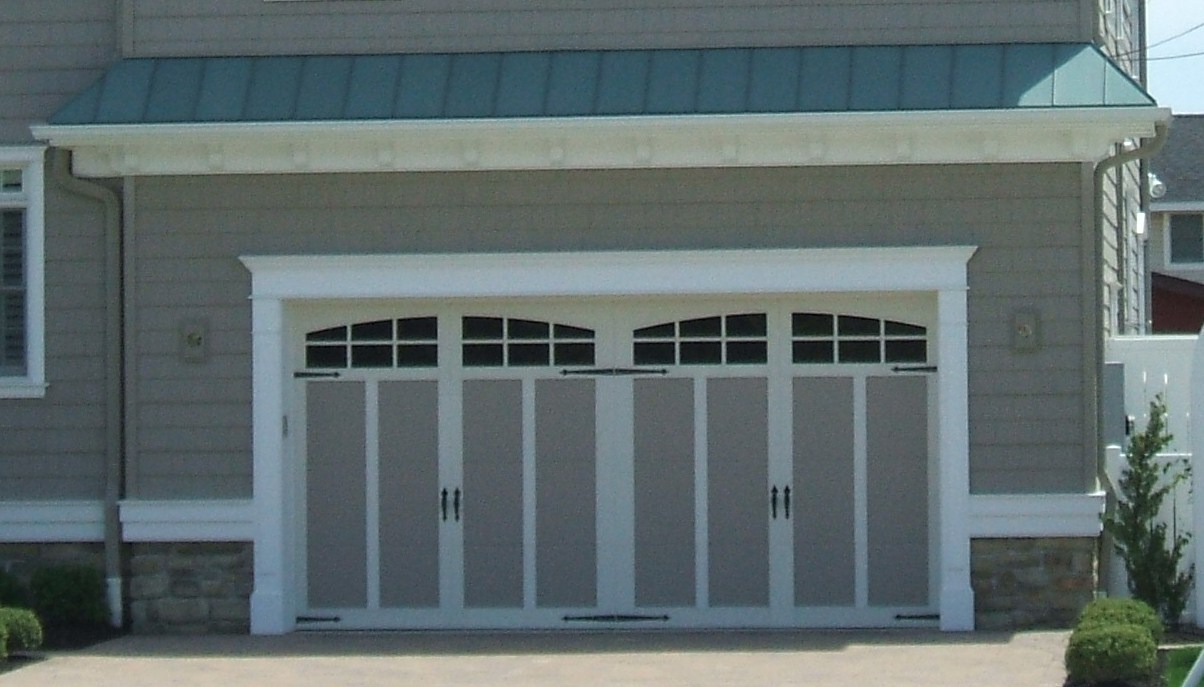 How do you guys finish the jambs on garage ohd 39 s for Garage door finishes