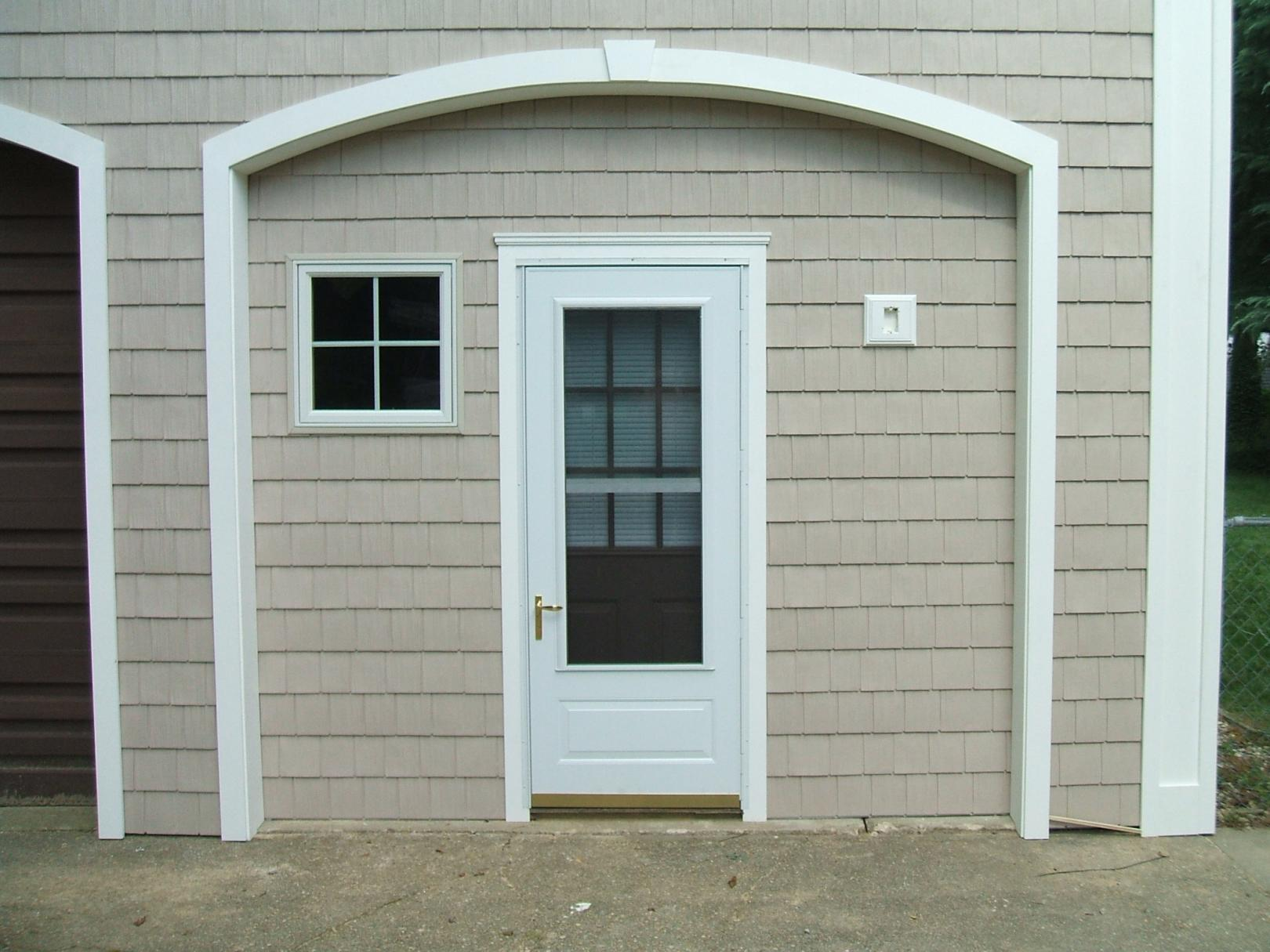 Mounting Storm Door On Azek Finish Carpentry