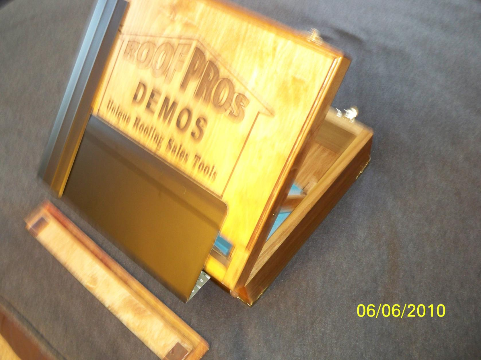 Roofers Briefcase Displaying Vented Drip Edge - Roofing - Contractor
