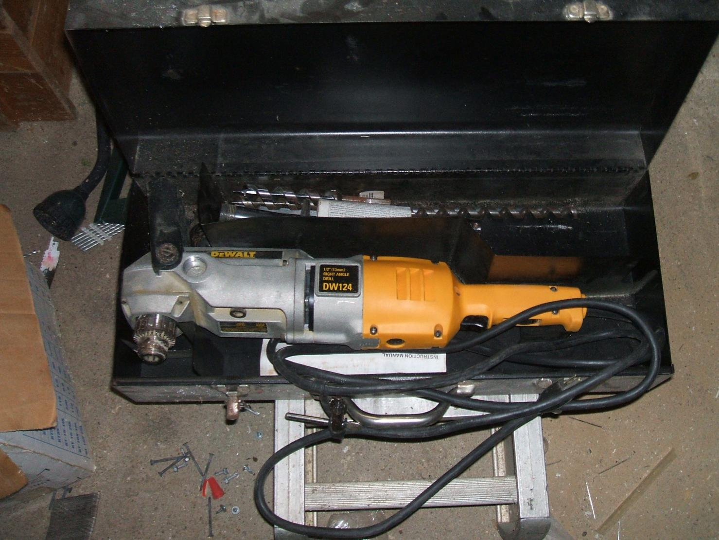 Hole Saw And Right Angle Drill Issues - Plumbing - Contractor Talk