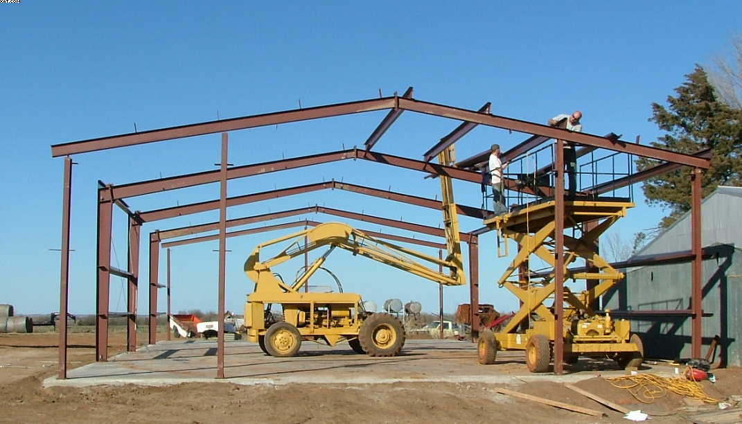Another Clear Span Steel Building In Oklahoma ...