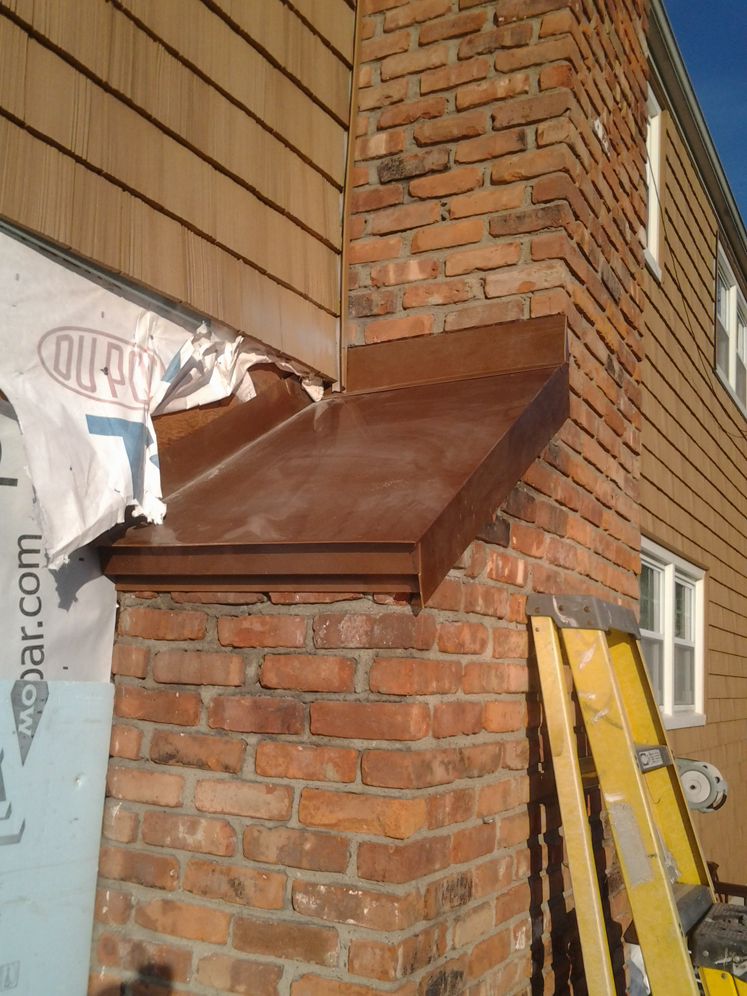 Flashing This Chimney Siding Intersection Carpentry