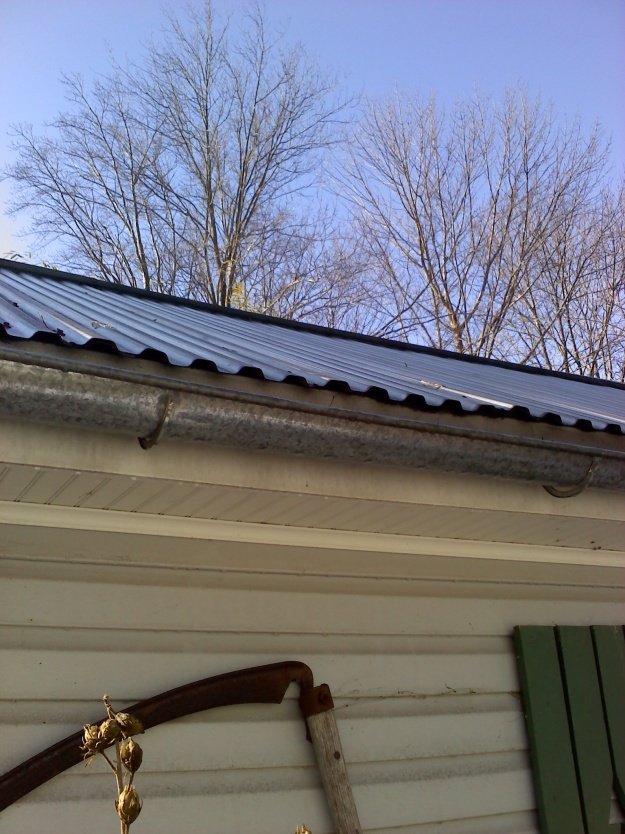 Aluminum Or Paint Grip Steel Gutters Roofing