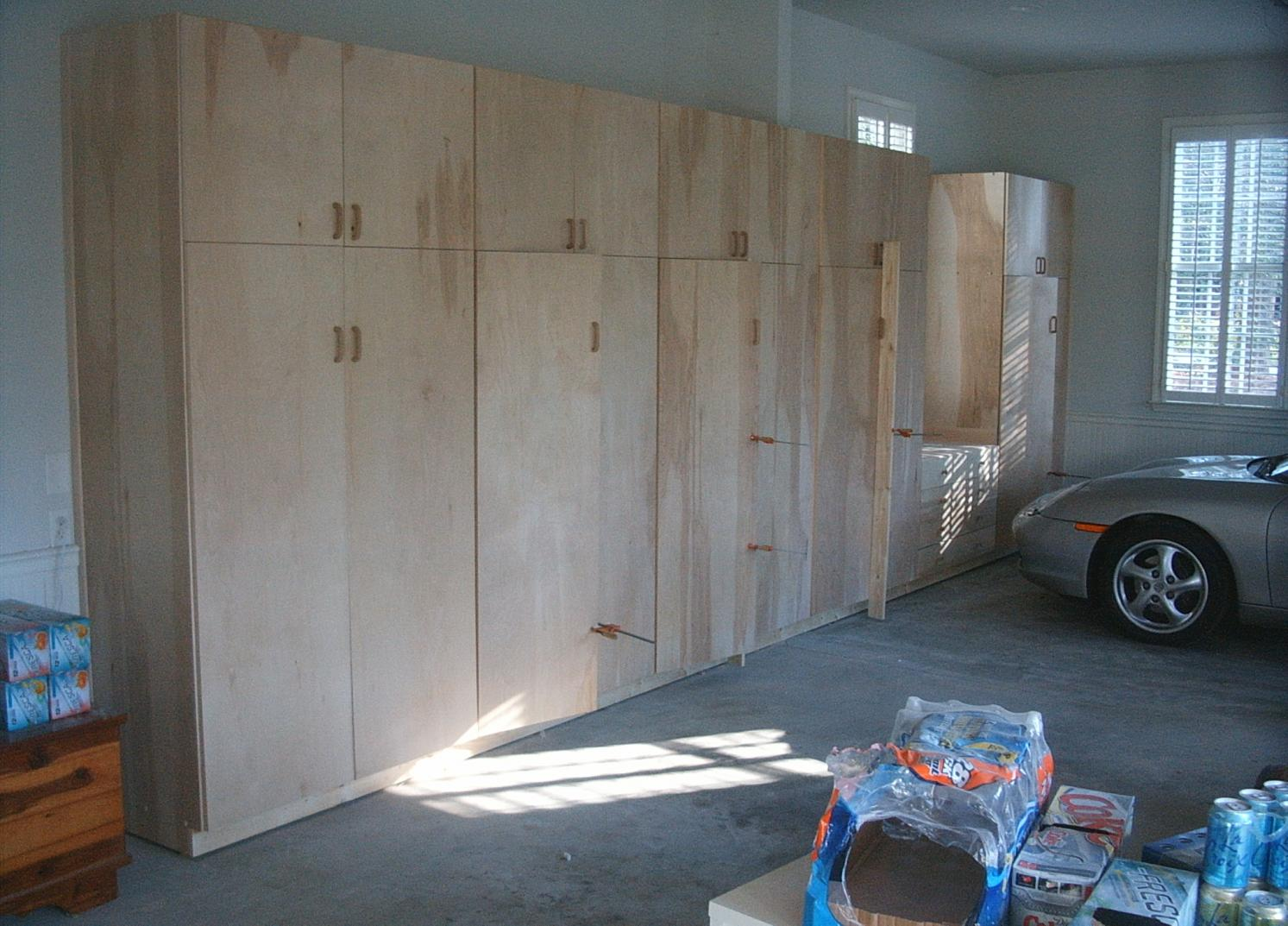 Build Garage Cabinets Ideas