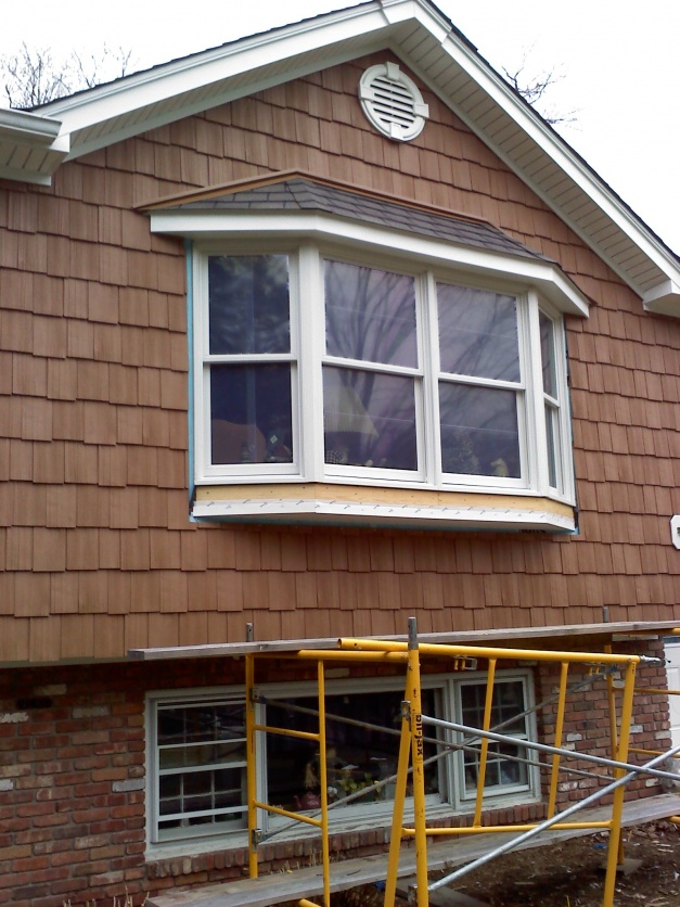 bow window roof idea windows siding and doors bow window roof framing how to build a bay window roof