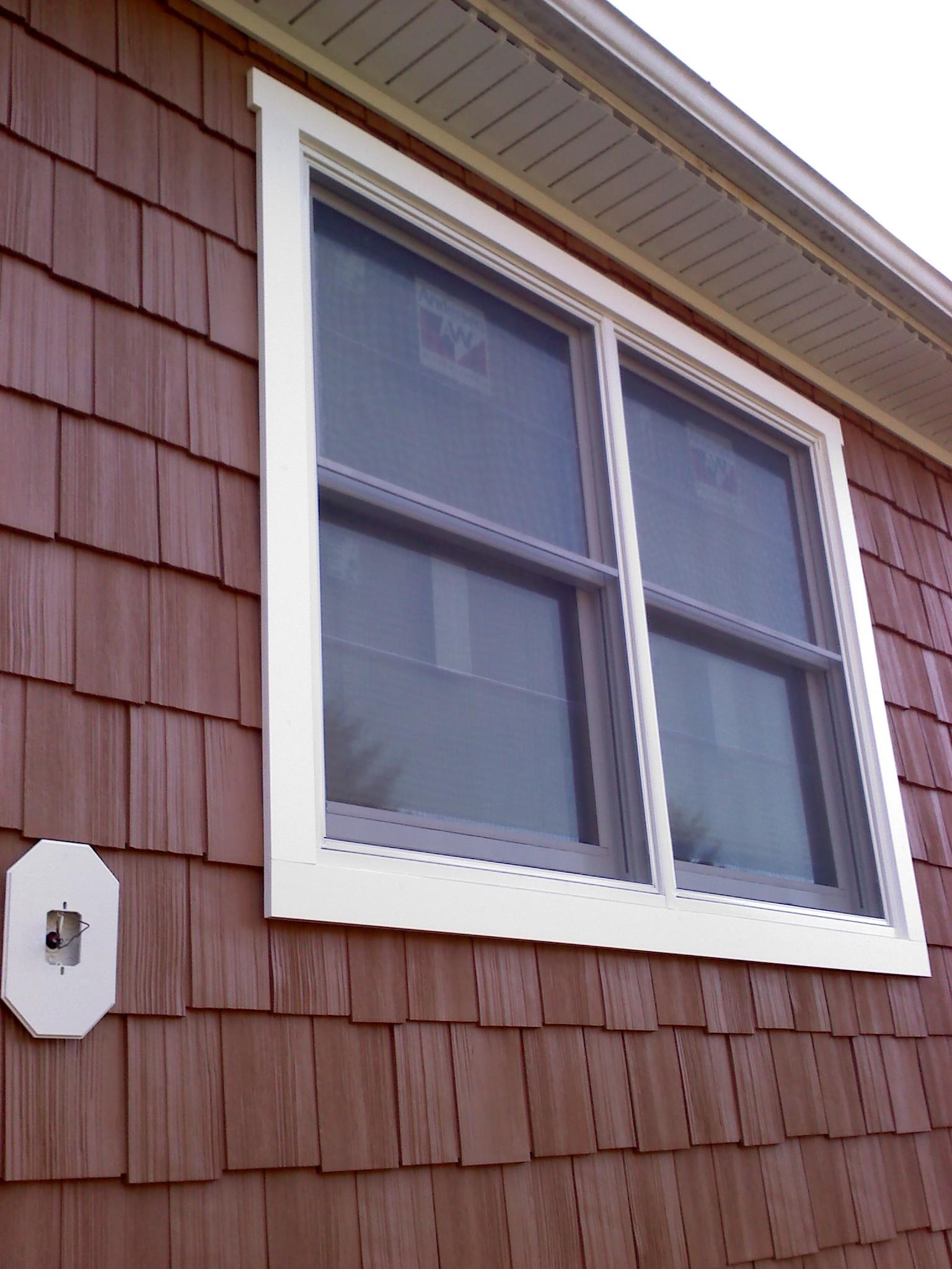 Window Trim With Rain Screen Windows Siding And Doors