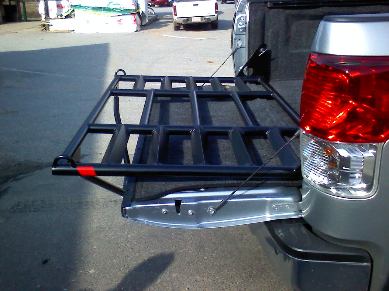 Truck Bed Slide Out Tool Box >> Tundra Bed Extender - Vehicles - Contractor Talk