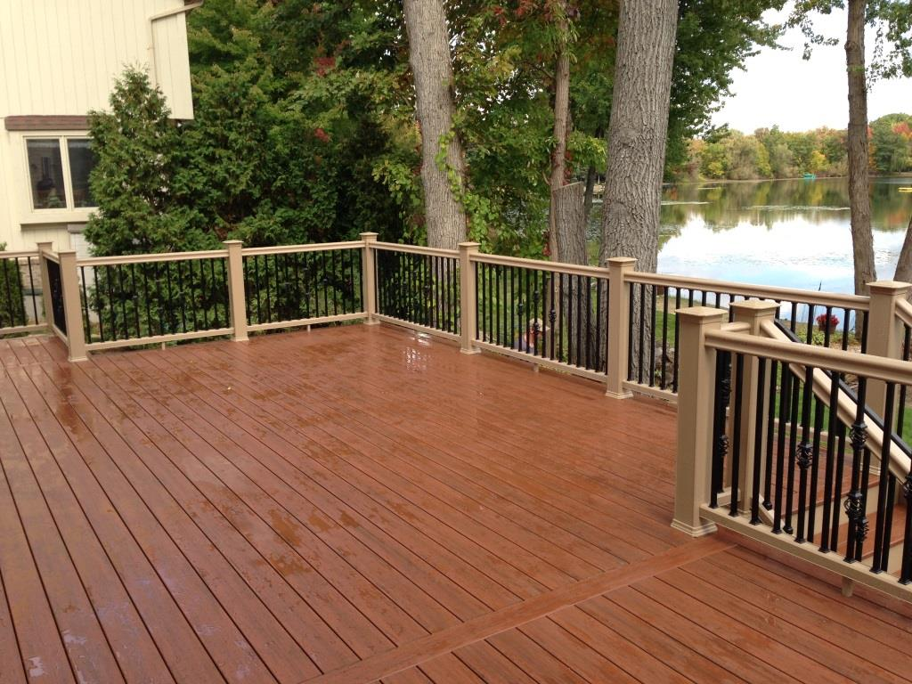 Composite decking page 4 decks fencing contractor talk Composite flooring for decks
