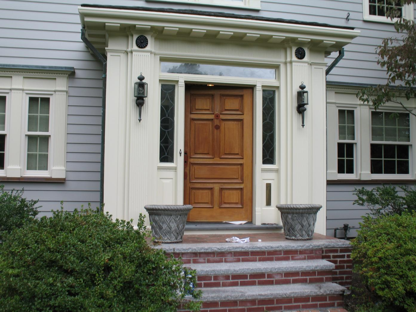 Exterior Paint Recommendation For Wood Doors Painting Finish