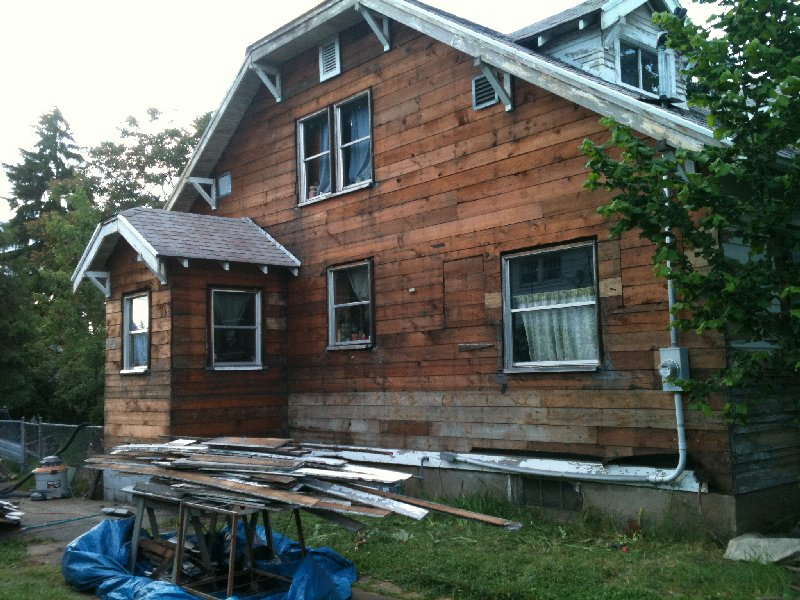 Original Beveled Cedar Siding Only Overlaps 1 2 Quot Help With
