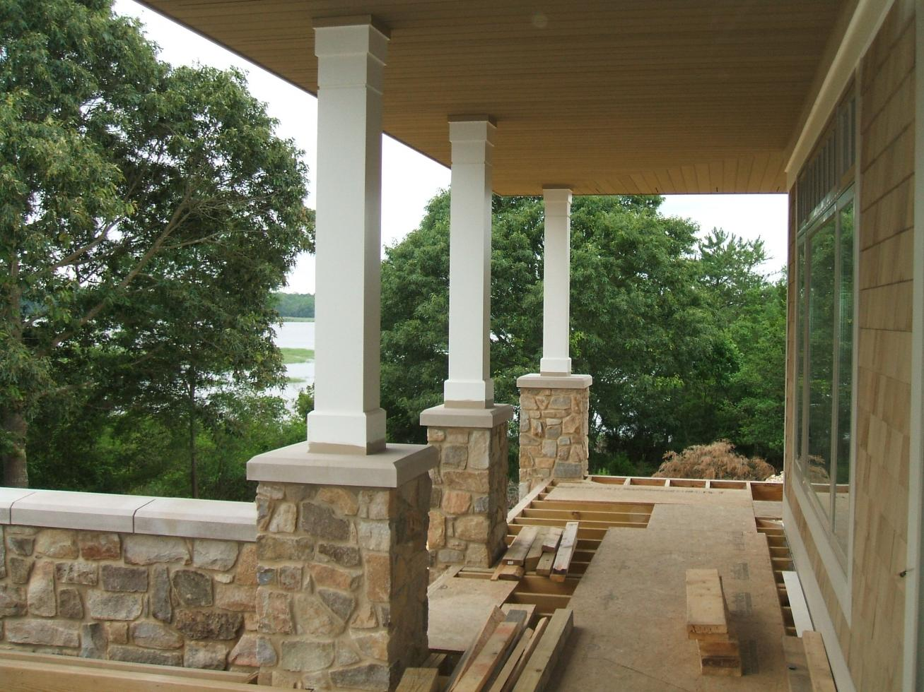 Which Joint For Column Wrap - Carpentry - Contractor Talk