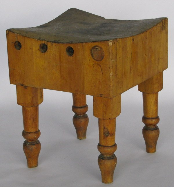 Re Old Time Stand Alone Butcher Block
