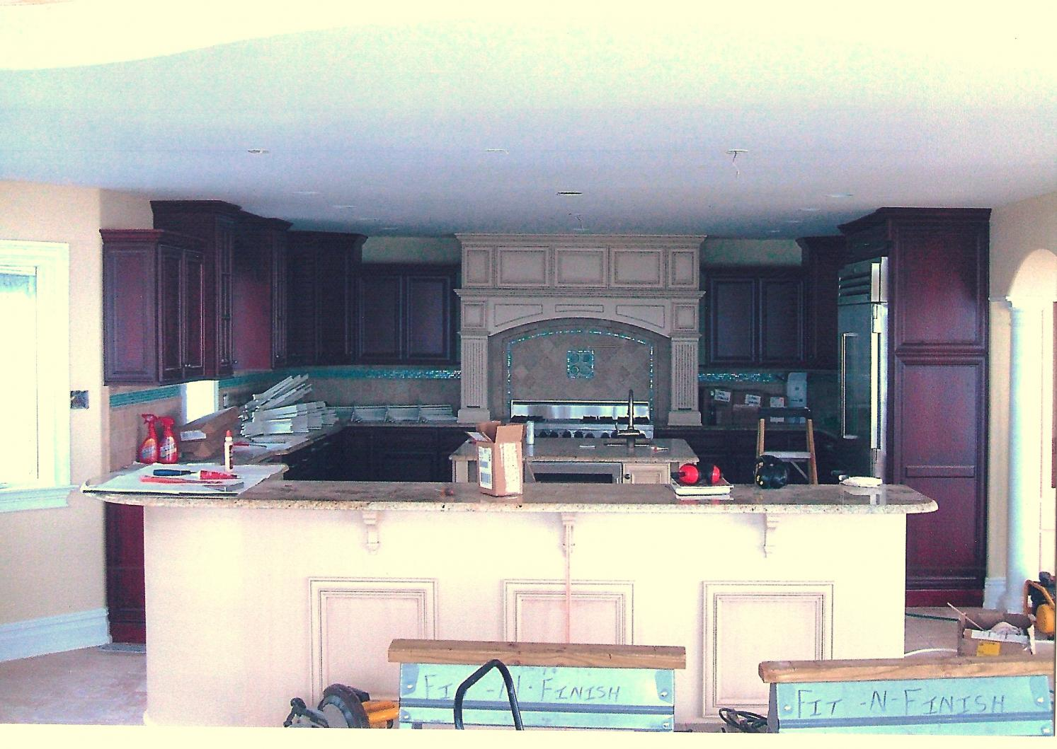 Color choice of high end kitchens kitchens baths for Colour choice for kitchen