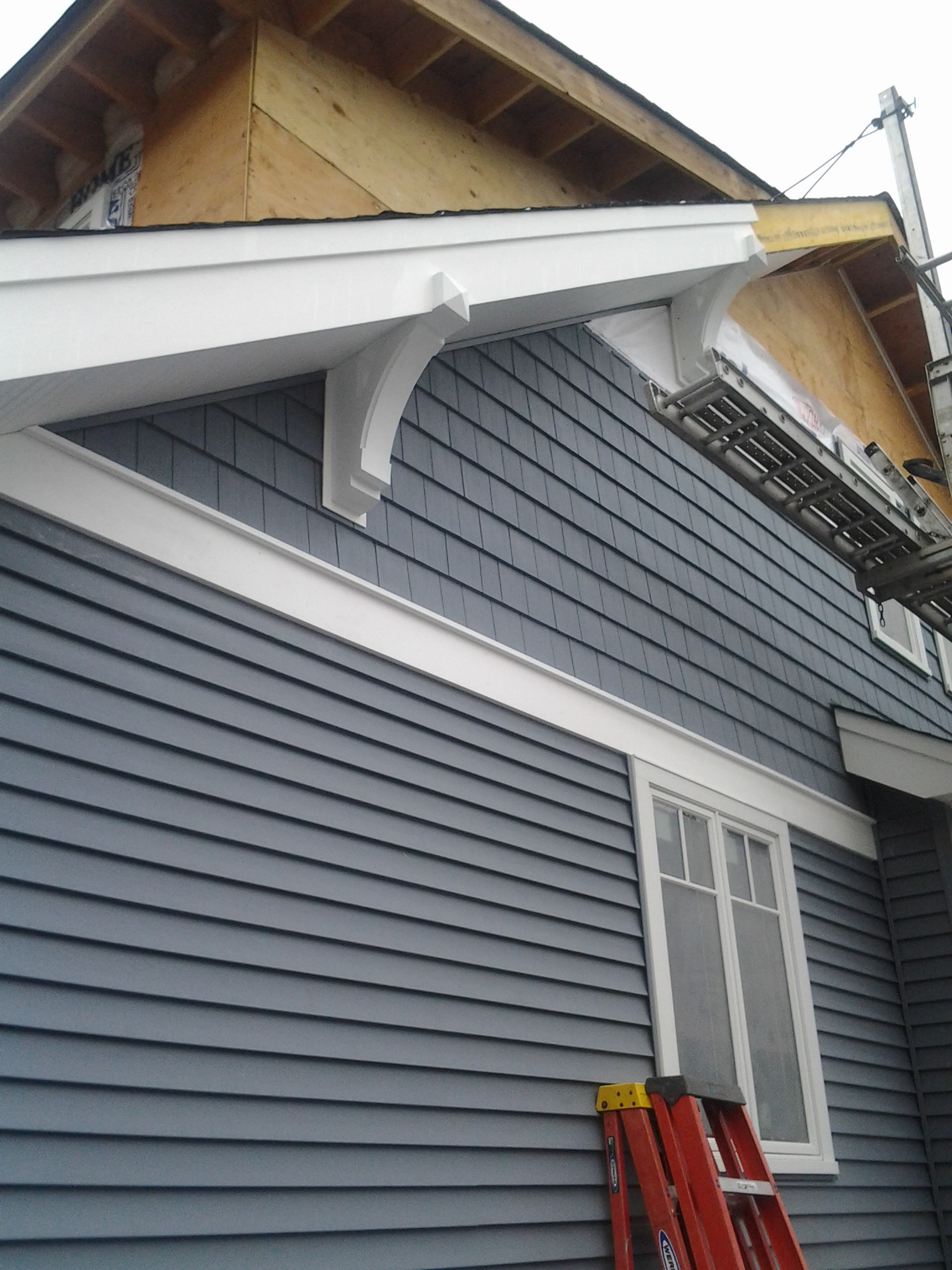 Soffit Bracket Question Windows Siding And Doors