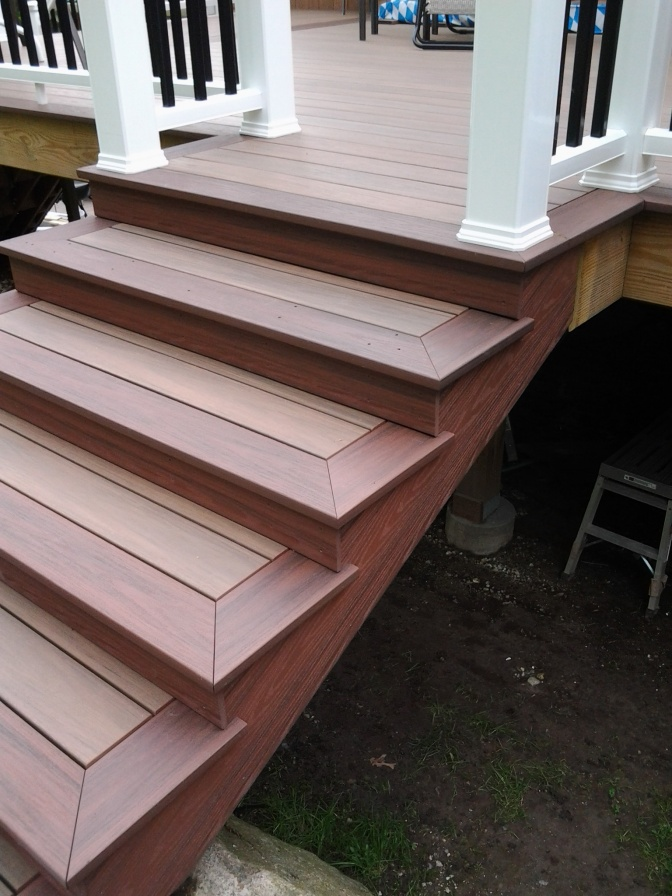Trex stairs question page 2 decks fencing contractor talk for Composite exterior stair treads