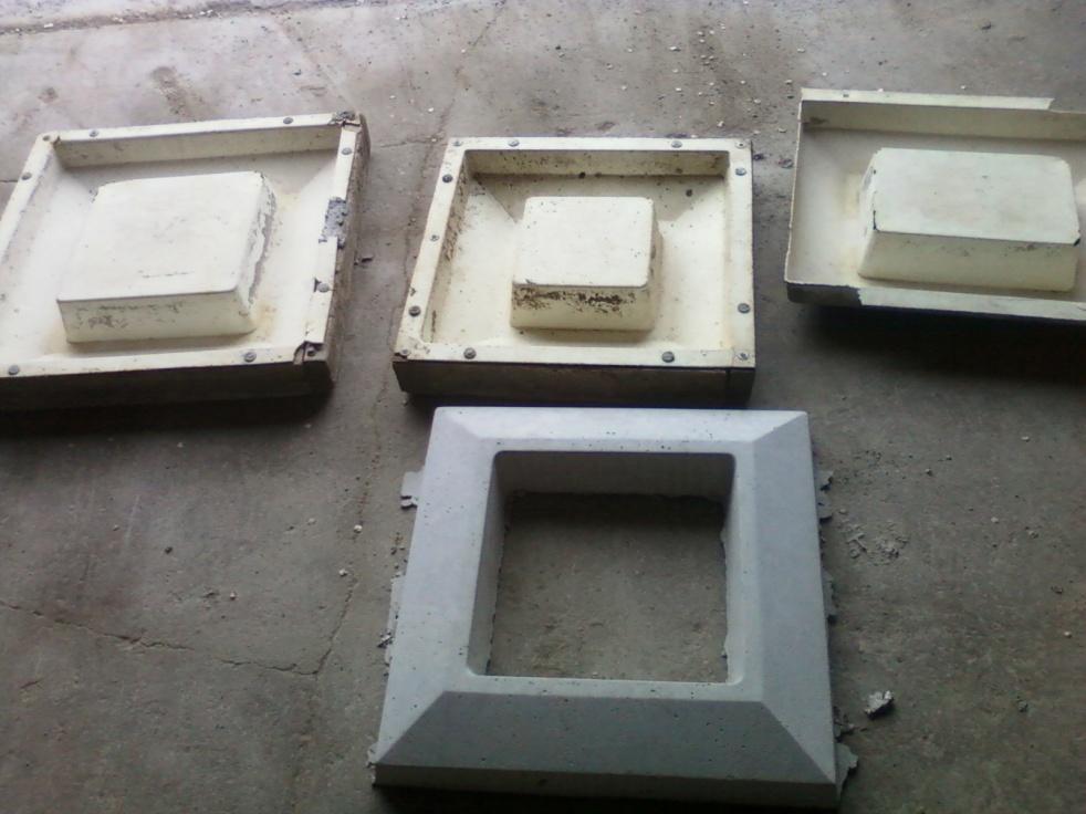 Precast Concrete Forms : Pre cast plastic concrete chimney cap forms general
