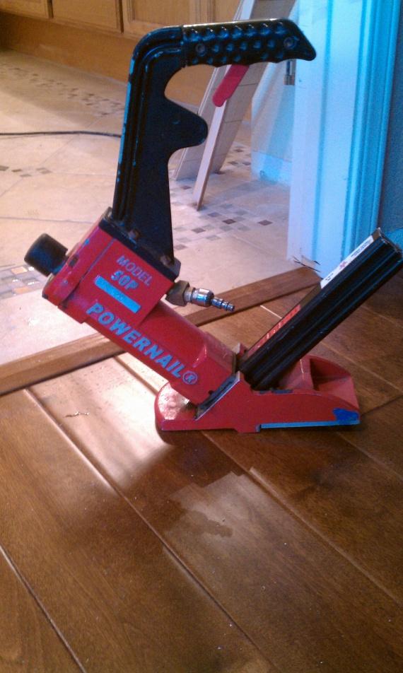 Engineered Hardwood Put Down Engineered Hardwood