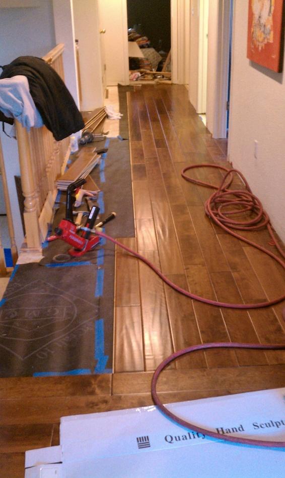 Engineered Wood Floor Stapler Tools Equipment Contractor Talk