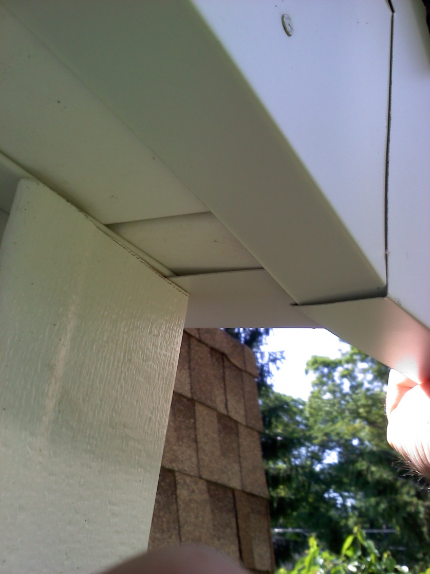 Wrapping Fascia Windows Siding And Doors Contractor Talk