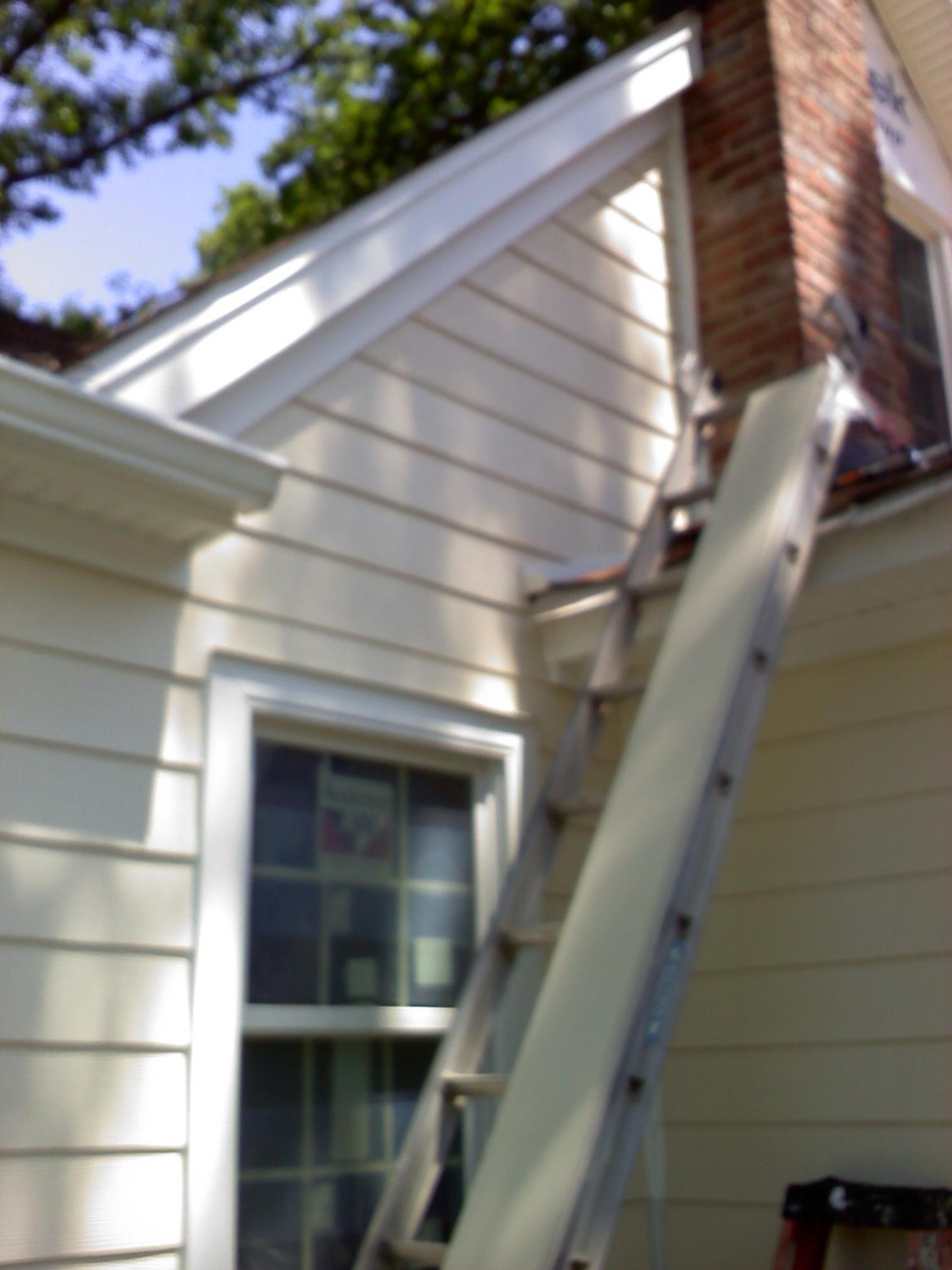 Hardie Plank And Pained Aluminum Trim Windows Siding