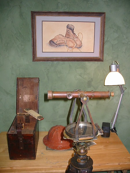 What is the oldest tool that you own?-0605theodolite.jpg