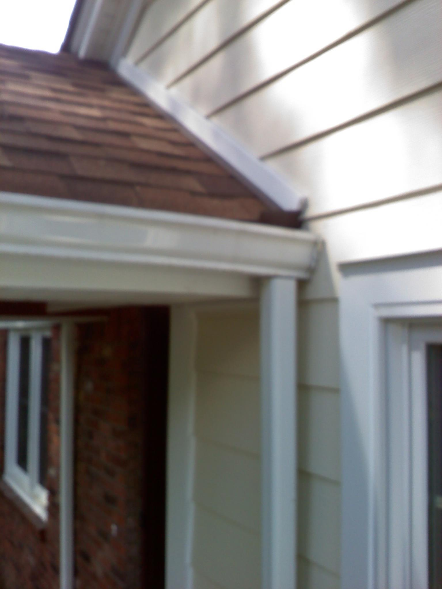 Shingle To Vinyl J Channel Spacing Windows Siding And