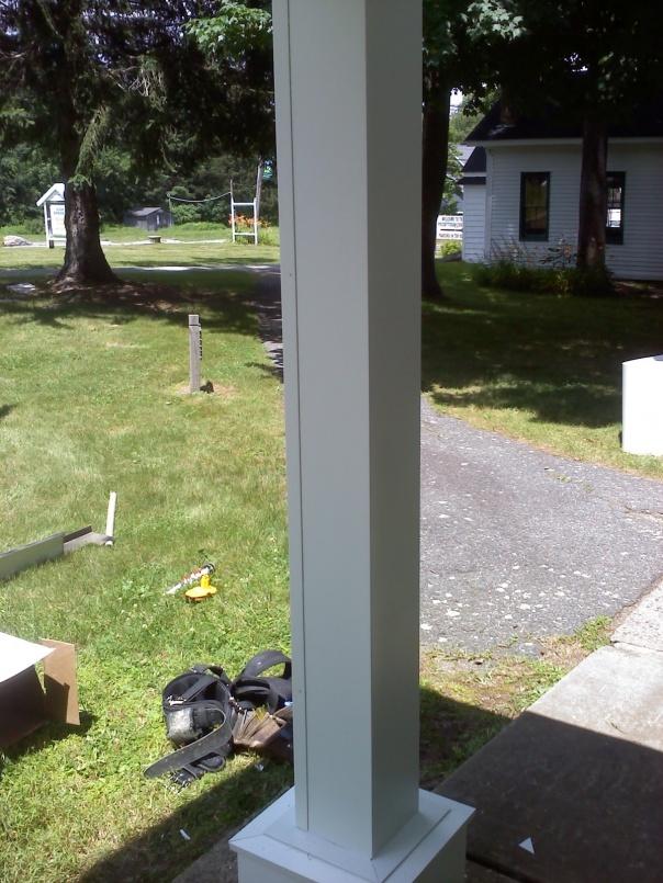 Post Cladding Aluminum : Post cladding windows siding and doors contractor talk