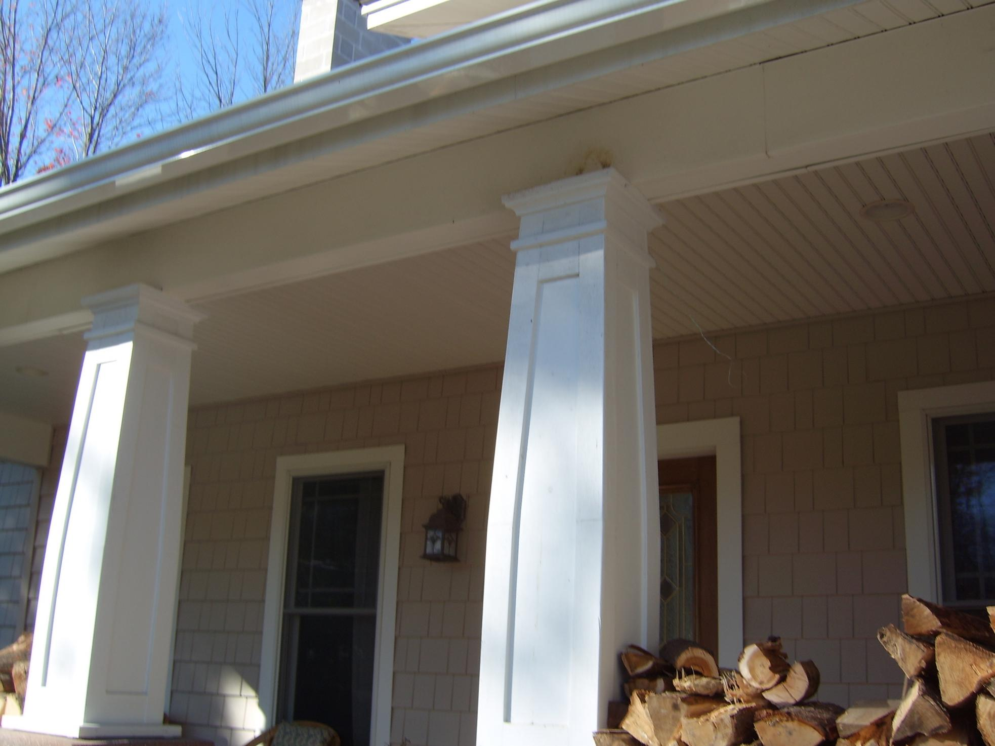 budd home columns services severino index decorative porch advanced exteriors aluminum