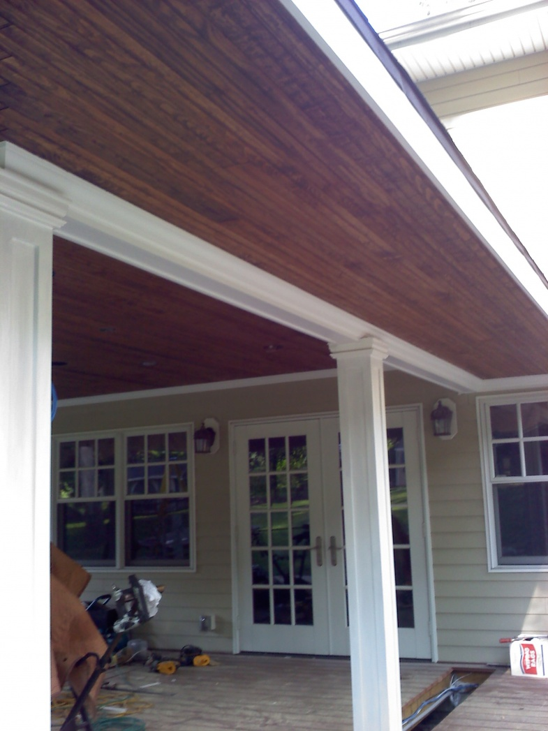 Wood Beaded Soffit Page 2 Windows Siding And Doors