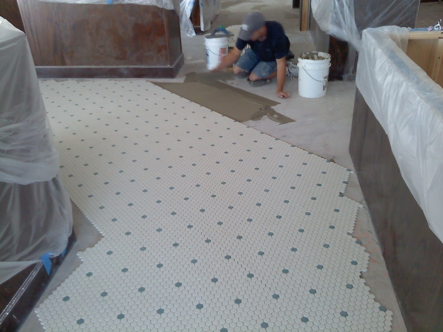 Corner Bakery Tiles : What tile project are you working on page tiling