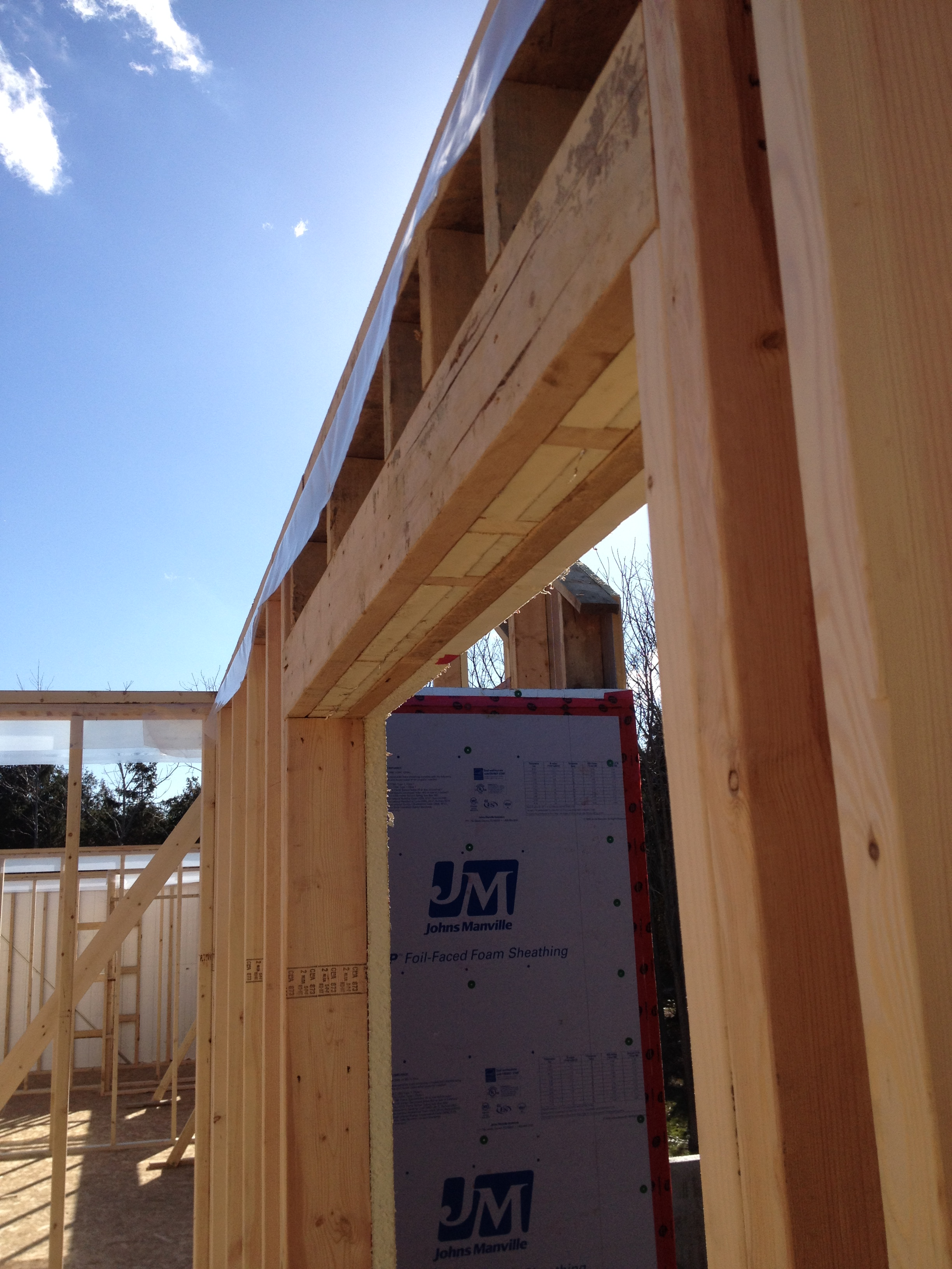 Is It 2X4 Or 2X6 Necessary At Bottom Of Header? - Framing ...