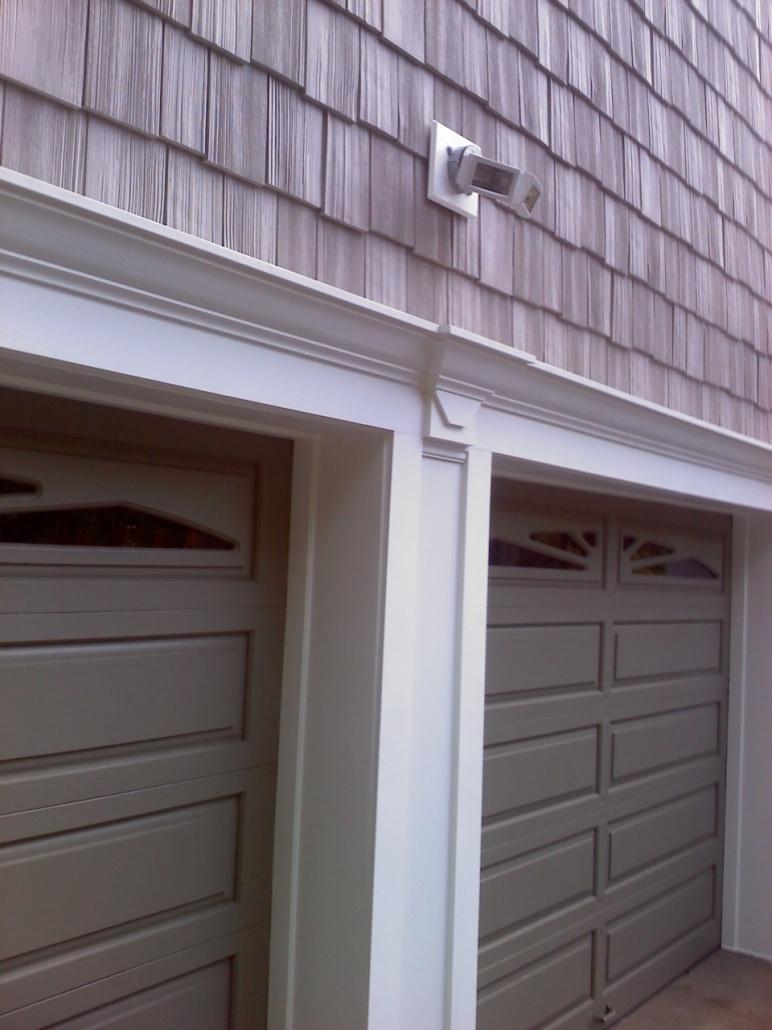 Methods Wrapping O head Garage Door Frame