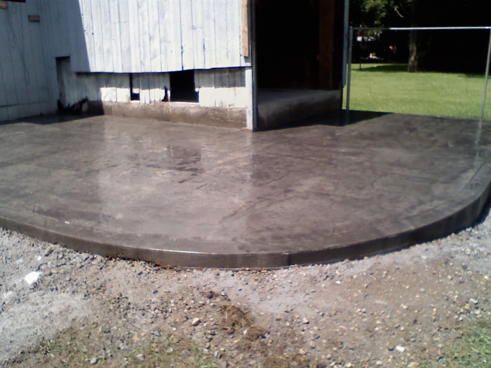 Vertical Concrete Creations Concrete Creations
