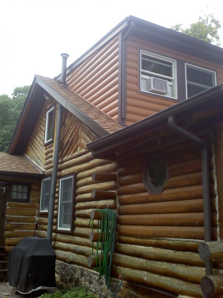 simulated log vinyl siding windows siding and doors
