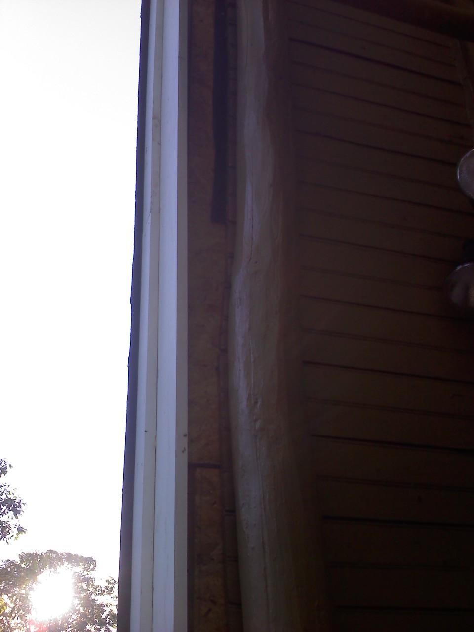 timbermill siding on log cabin windows siding and