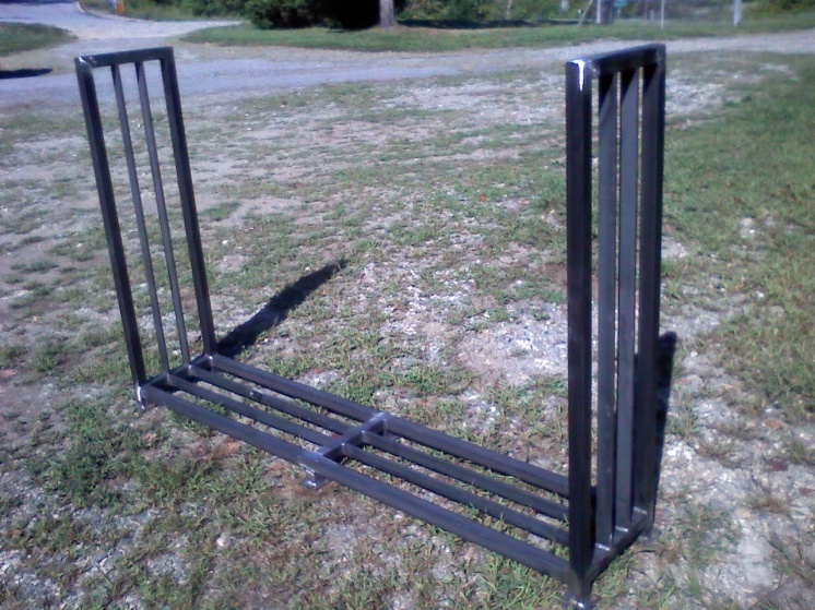 Firewood Rack. - Specialty Trades Picture Post ...