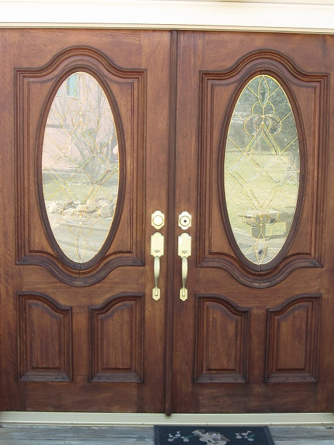 Exterior Door Glass Insert Trim Moulding Replacement Windows Siding And Doors Contractor Talk