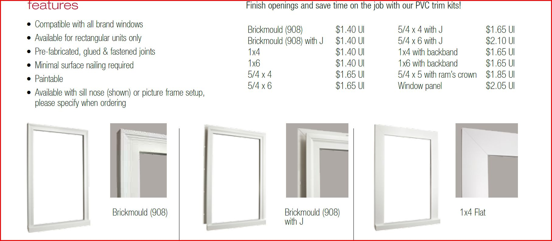 Anderson Windows Exterior Trim 1 ...