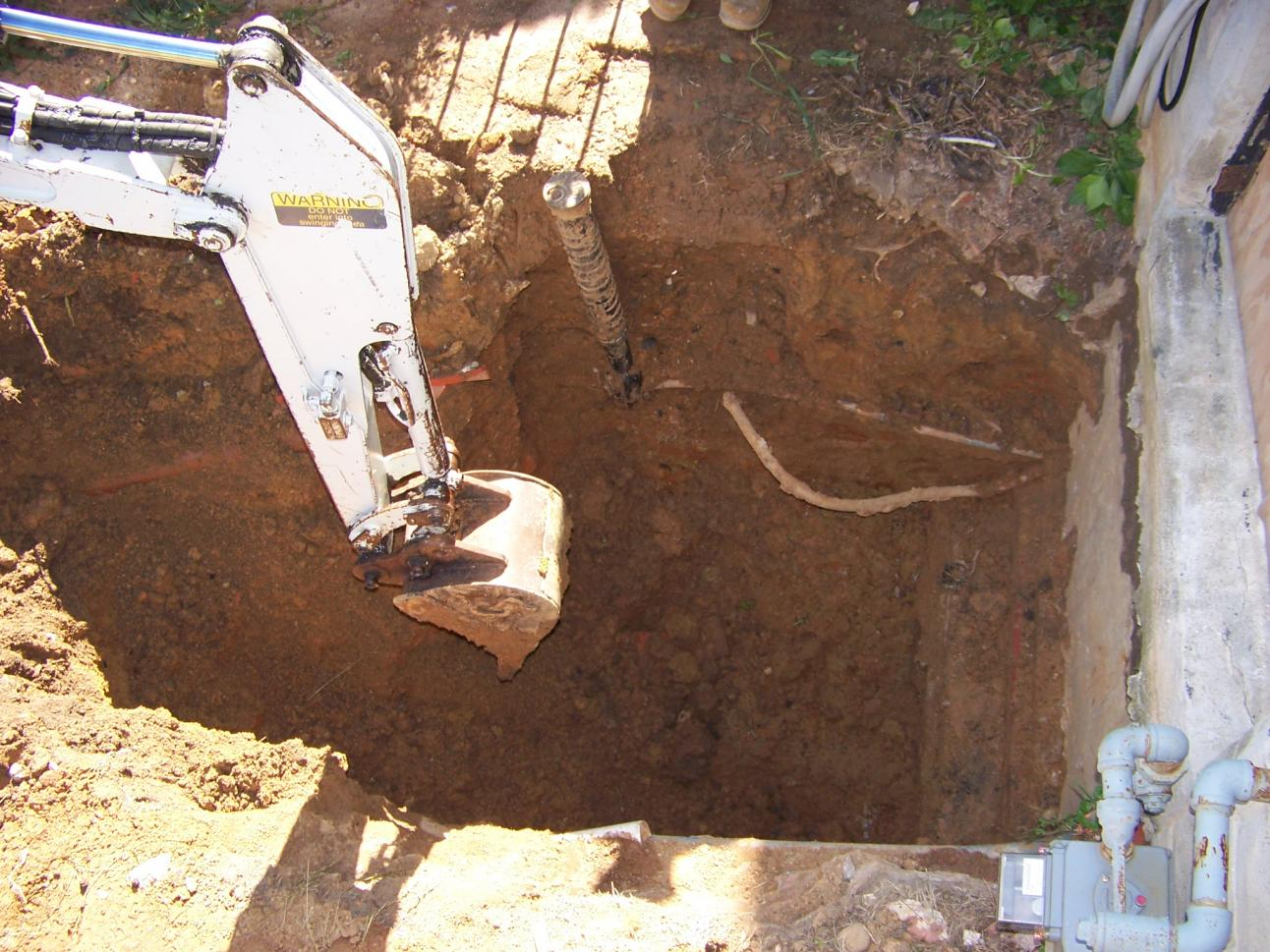Basement Entrance Excavation Site Work Contractor Talk