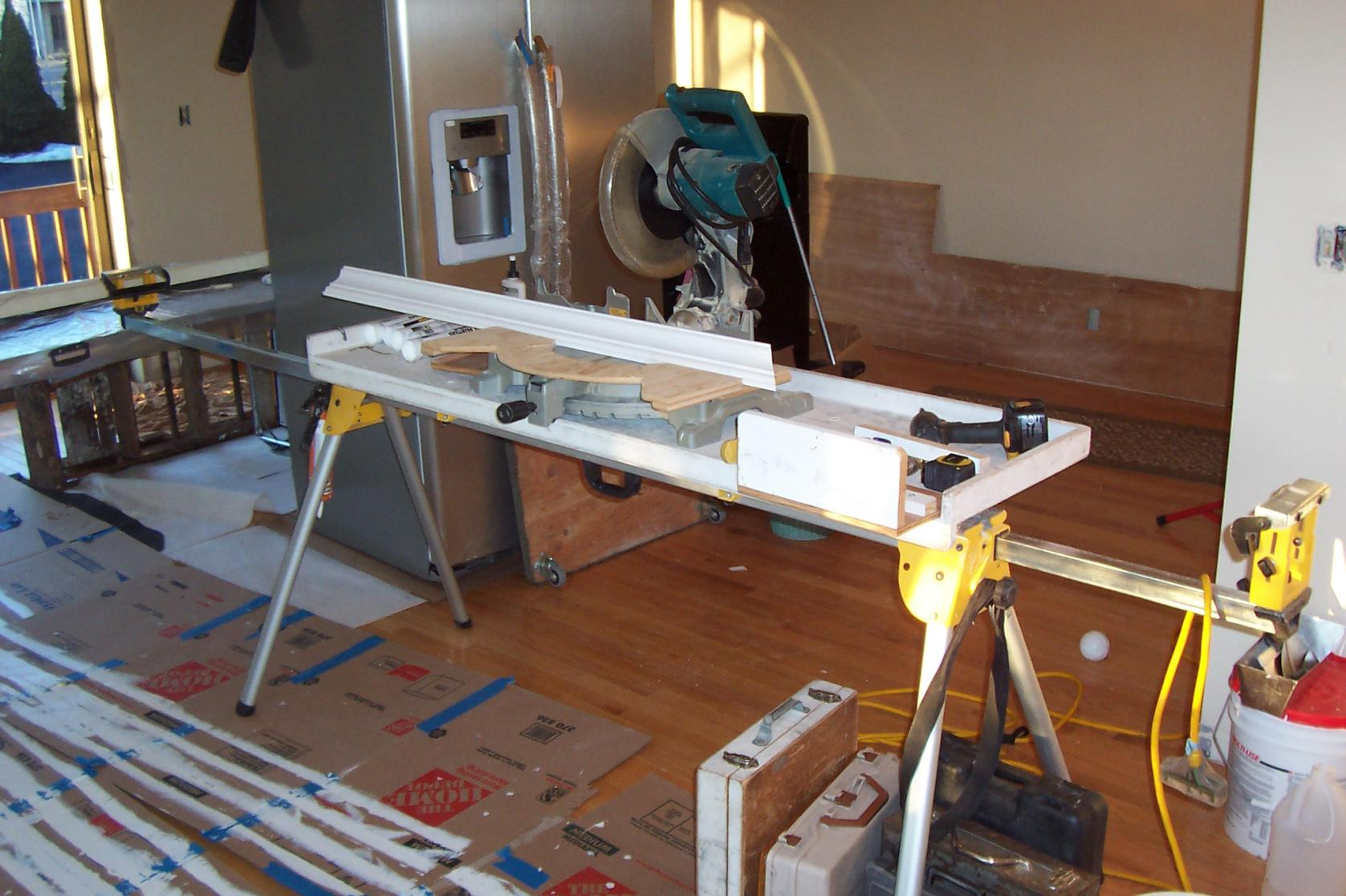 Miter Saw Stands - Tools & Equipment - Contractor Talk