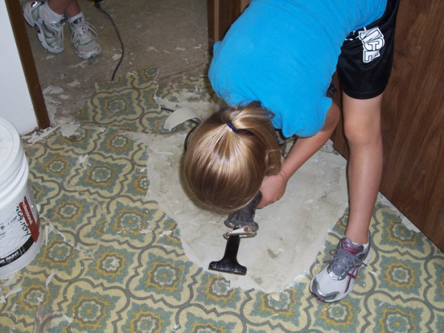Tile Over Vinyl Flooring Page 2 Tiling Contractor Talk