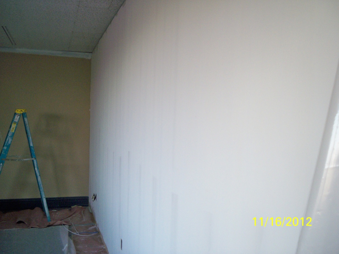 2nd Coat To Office Walls