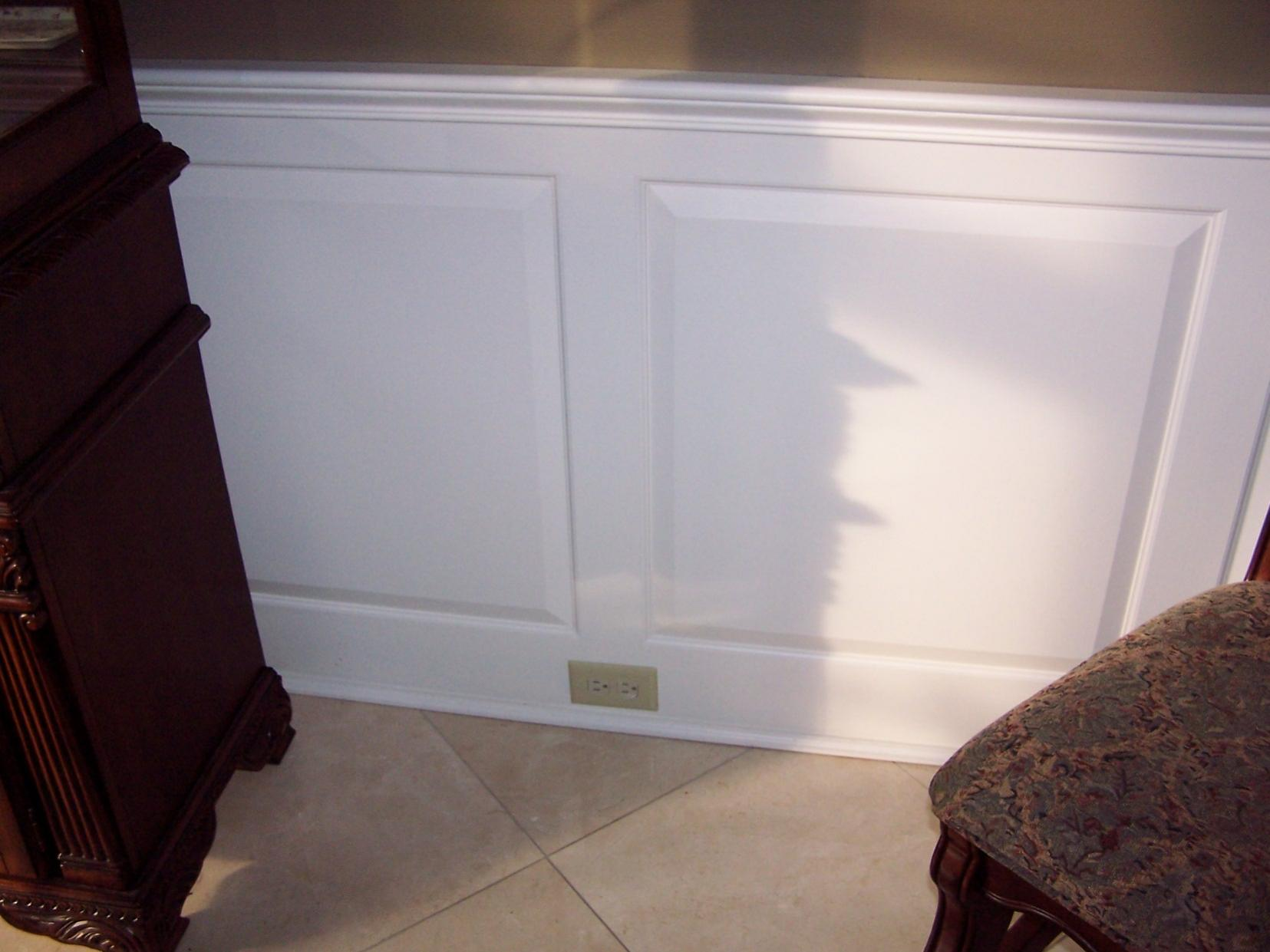Raised Panel Wainscoting Carpentry Picture Post