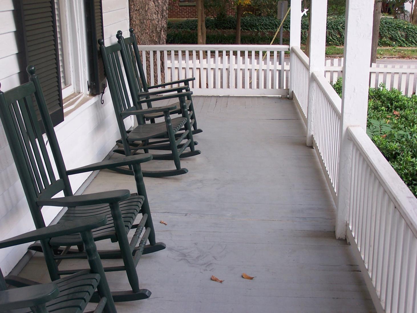 Porch flooring historical restoration contractor talk for Outdoor porch flooring