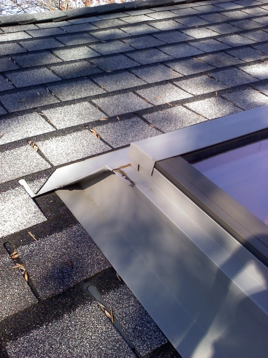 Metal Roof Flashing Behind Chimney Roofing Contractor Talk