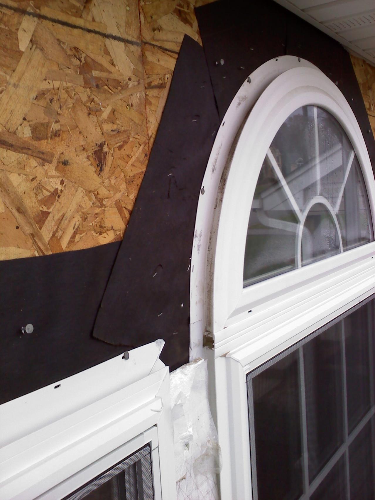 Window header framing contractor talk for Window header